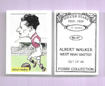 West Ham United Albert Walker 47 (FC)